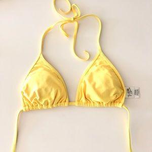 Body glove yellow triangle top